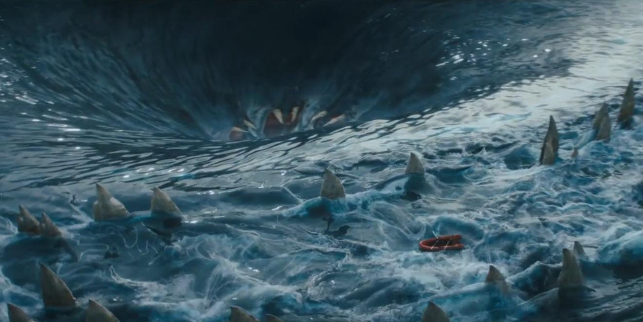 Mar de monstruos trailer oficial