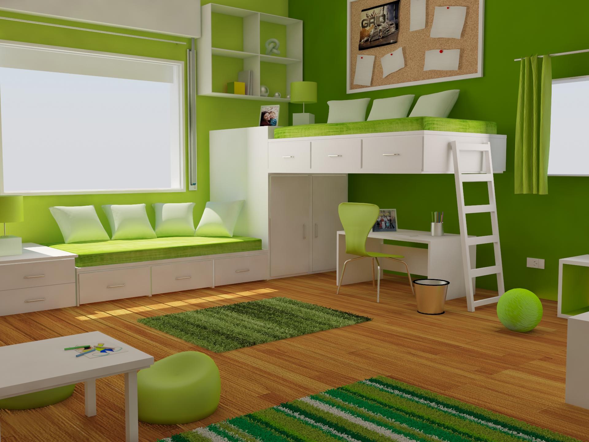 Habitacion de jovenes for Planificador habitacion 3d