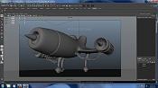 Modelado, Texturizado   Render de un avion-maya-avion.jpg