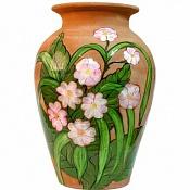 Reto para aprender a realizar texturas realistas-jarron-de-ceramicas-pintado-con-flores.jpg