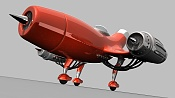 Modelado, Texturizado   Render de un avion-render5.jpeg