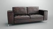 armchair de cuero modelado en Blender y renderizado con Maxwell Render-0001.png