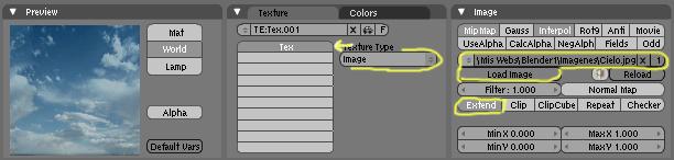 Como crear un fondo de nubes con una imagen y sin imagen, solo con textura en blender-cielo03.jpg