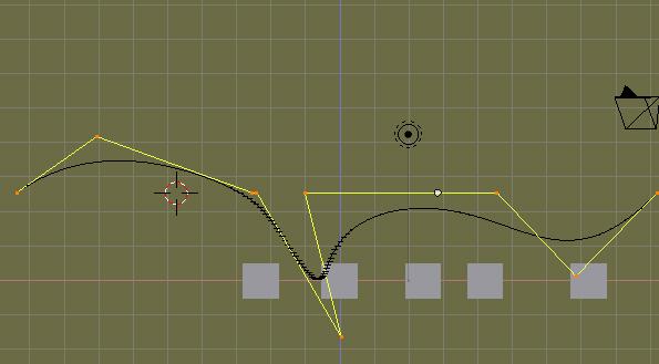 Camara animada: Mover la camara mediante una curva Path -path02.jpg