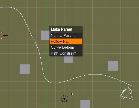 Camara animada: Mover la camara mediante una curva Path -path03.jpg