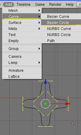Blender] Como conseguir dar forma a un objeto con curvas bezier