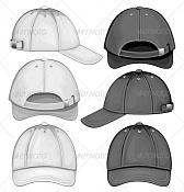 Primer modelado en Blender, sin tutorial -cap-baseball-black-white-590.jpg