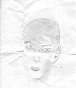Dibujos rapidos , Bocetos  y apuntes  en papel -caram2.jpg