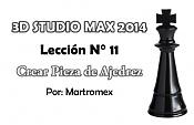 Video tutorial 3D Studio Max 2014 - Leccion 11 - Creando Pieza de ajedrez-crear-pieza-de-ajedrez-leccion-11.jpg