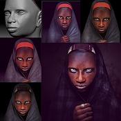 Tribal woman-process.jpg