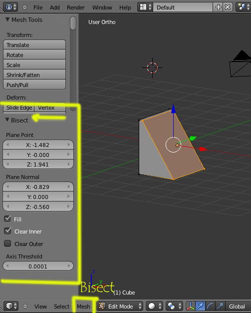 Un buen tutorial de fractura del blender -bisect.jpg