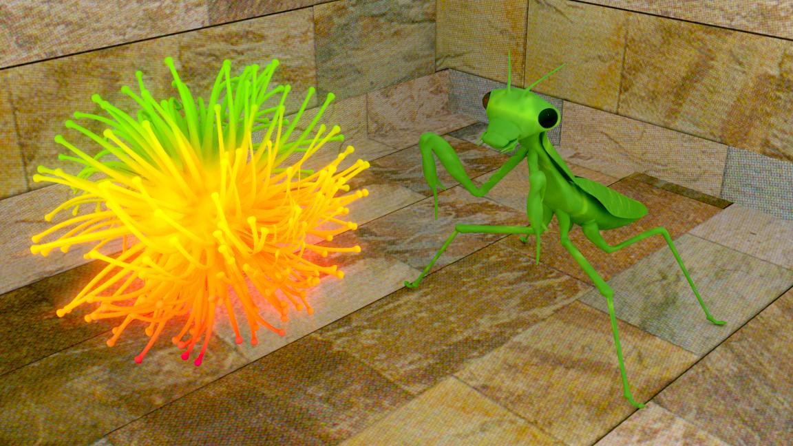 Reto Blender Total    -medusa_mantis6.jpg