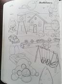 Dibujos rapidos , Bocetos  y apuntes  en papel -5-1-14.jpg