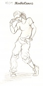Dibujos rapidos , Bocetos  y apuntes  en papel -8-1-14.jpg