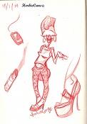 Dibujos rapidos , Bocetos  y apuntes  en papel -19-1-14.jpg