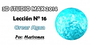 Video tutorial 3D Studio Max 2014 - Leccion 16- Crear agua-leccion-n-16.jpg