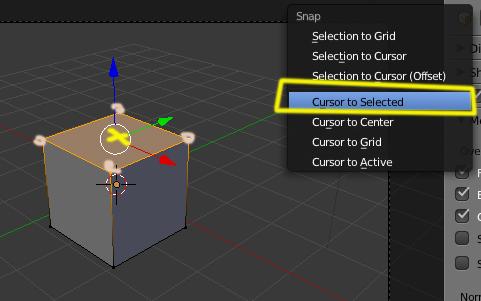 atajo para poner el 3D cursor en el centro -cursor1.jpg