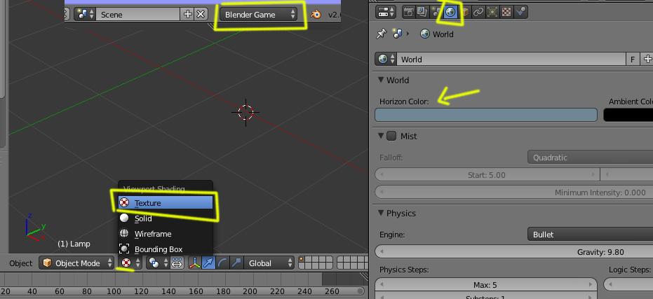 Error en Blender Game Engine, pantalla se pone gris -world1.jpg