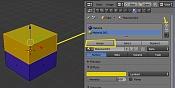 UV mapping : alinear puntos y usar varios UVs-dosmateriales.jpg