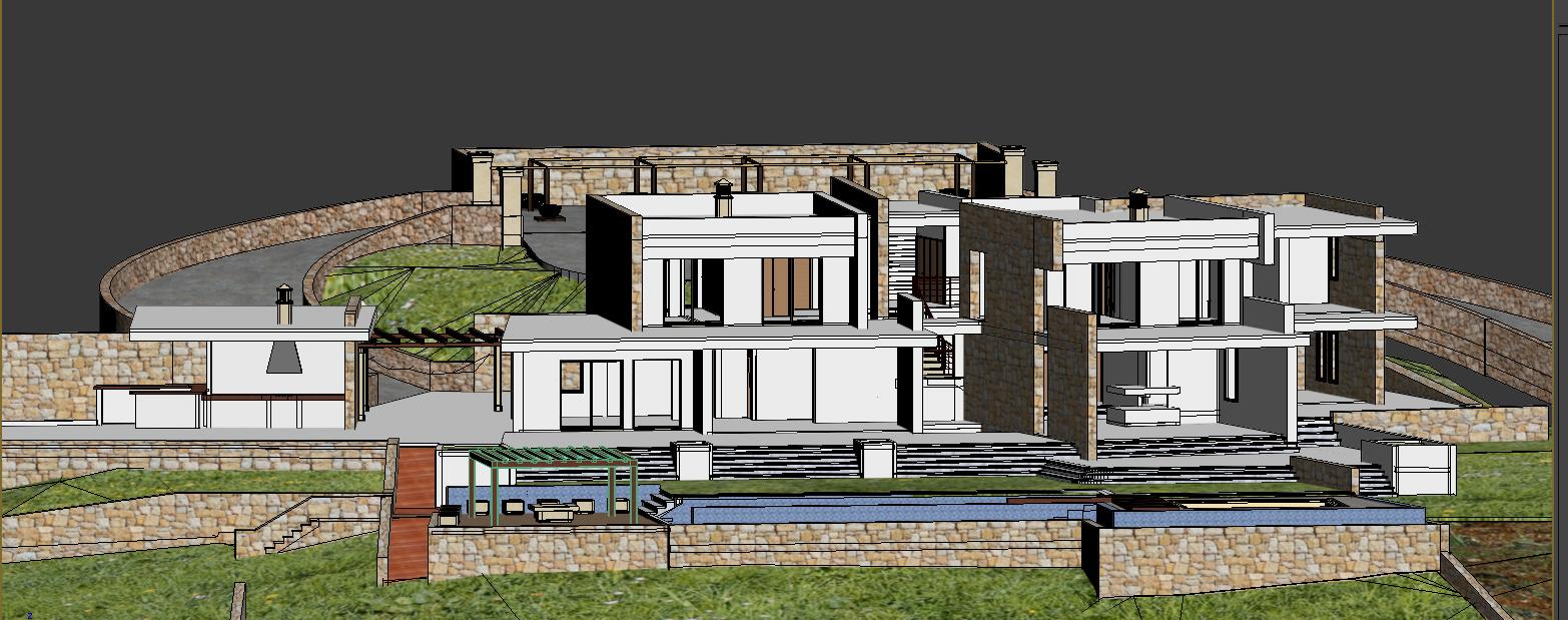 Casa moderna que se empieza a construir - Construir casa moderna ...