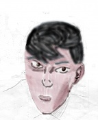 Dibujos rapidos , Bocetos  y apuntes  en papel -caram_pinta-copia.jpg