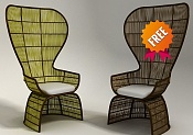 Nuevos modelos 3d gratis-armchair-fab011.jpg