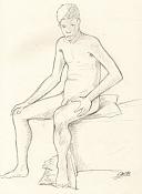 Dibujos rapidos , Bocetos  y apuntes  en papel -boceto004.jpg