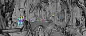 El hobbit, la desolacion de Smaug-making-of-de-el-hobbit-paisajes-3d-imaginarios-4.jpg