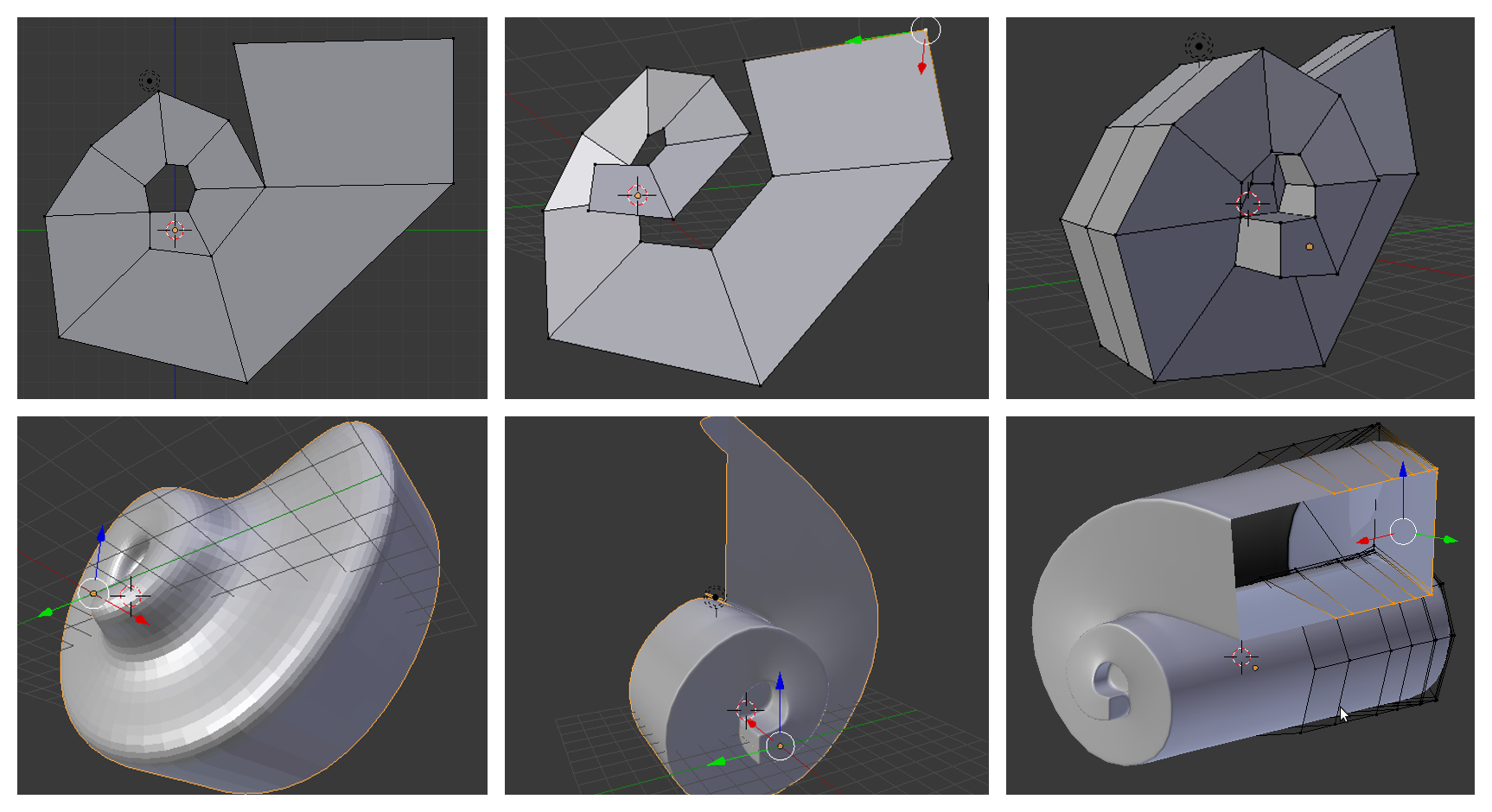 Blender formas ornamentales y curvas for Formas ornamentales