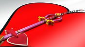 Coleccion de Keyblades  Llaves espada  Kingdom Hearts-lady-luck.png