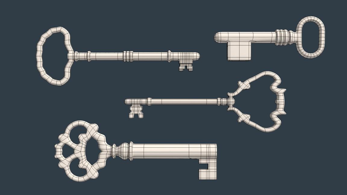 Reto para aprender Blender-llaves4_wire.jpg