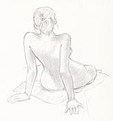 Dibujos rapidos , Bocetos  y apuntes  en papel -boceto019.jpg