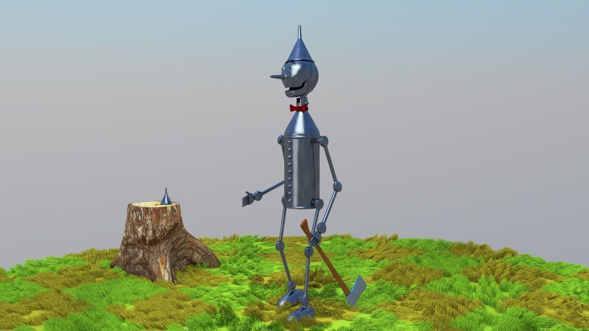 Blender Hombre De Hojalata El Mago De Oz