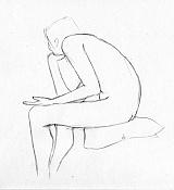Dibujos rapidos , Bocetos  y apuntes  en papel -boceto022.jpg