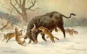 Texturizacion de un Uro  toro primigenio extinto -uro-luchando.jpg