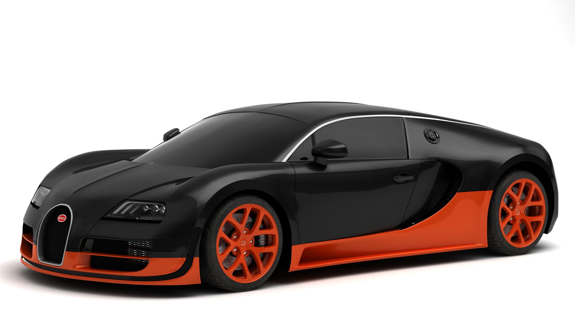 Bugatti veyron super sport - Coloriage de bugatti ...
