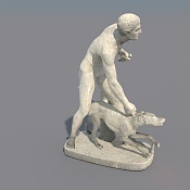 Renderizar Vray Normal Map-hunter-and-his-dog_0022.jpg