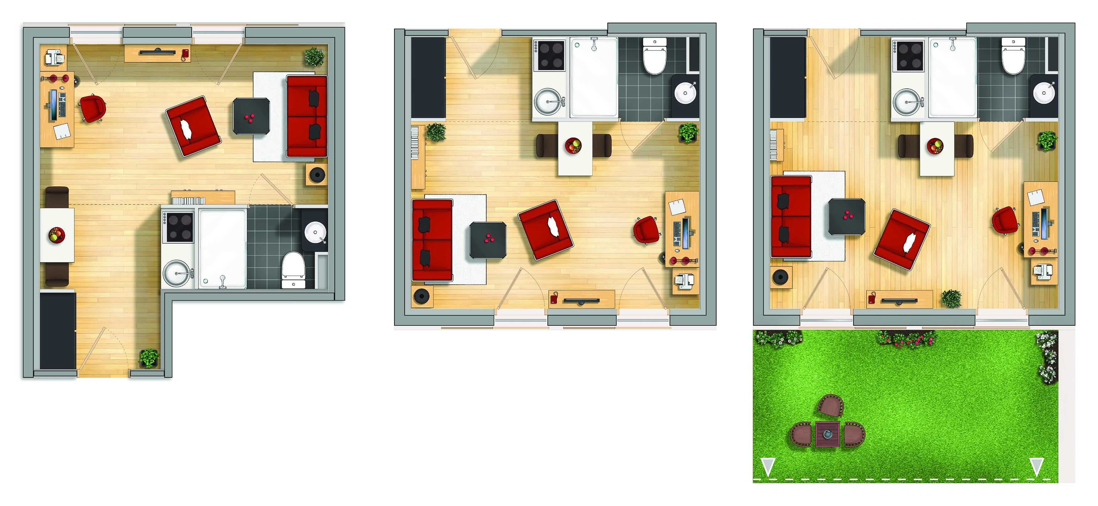 photoshop apartamentos para estudiantes