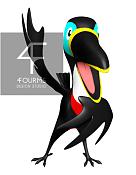 como modelar plumaje para ave 3D-tucan.png