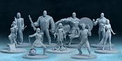 """Miniaturas para juego de mesa""""Battle Arena Show""""-all.jpg"""