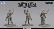 """Miniaturas para juego de mesa""""Battle Arena Show""""-starkad.jpg"""