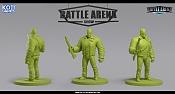 """Miniaturas para juego de mesa""""Battle Arena Show""""-jagger.jpg"""