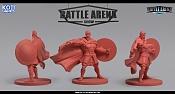 """Miniaturas para juego de mesa""""Battle Arena Show""""-giles.jpg"""