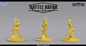 """Miniaturas para juego de mesa""""Battle Arena Show""""-diane.jpg"""