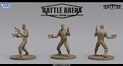 "Miniaturas para juego de mesa""Battle Arena Show""-socket.jpg"