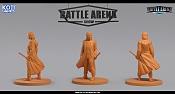 """Miniaturas para juego de mesa""""Battle Arena Show""""-nathan.jpg"""