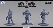 "Miniaturas para juego de mesa""Battle Arena Show""-maddox.jpg"