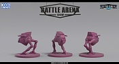 "Miniaturas para juego de mesa""Battle Arena Show""-purple_minion.jpg"