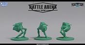 """Miniaturas para juego de mesa""""Battle Arena Show""""-green_minion.jpg"""