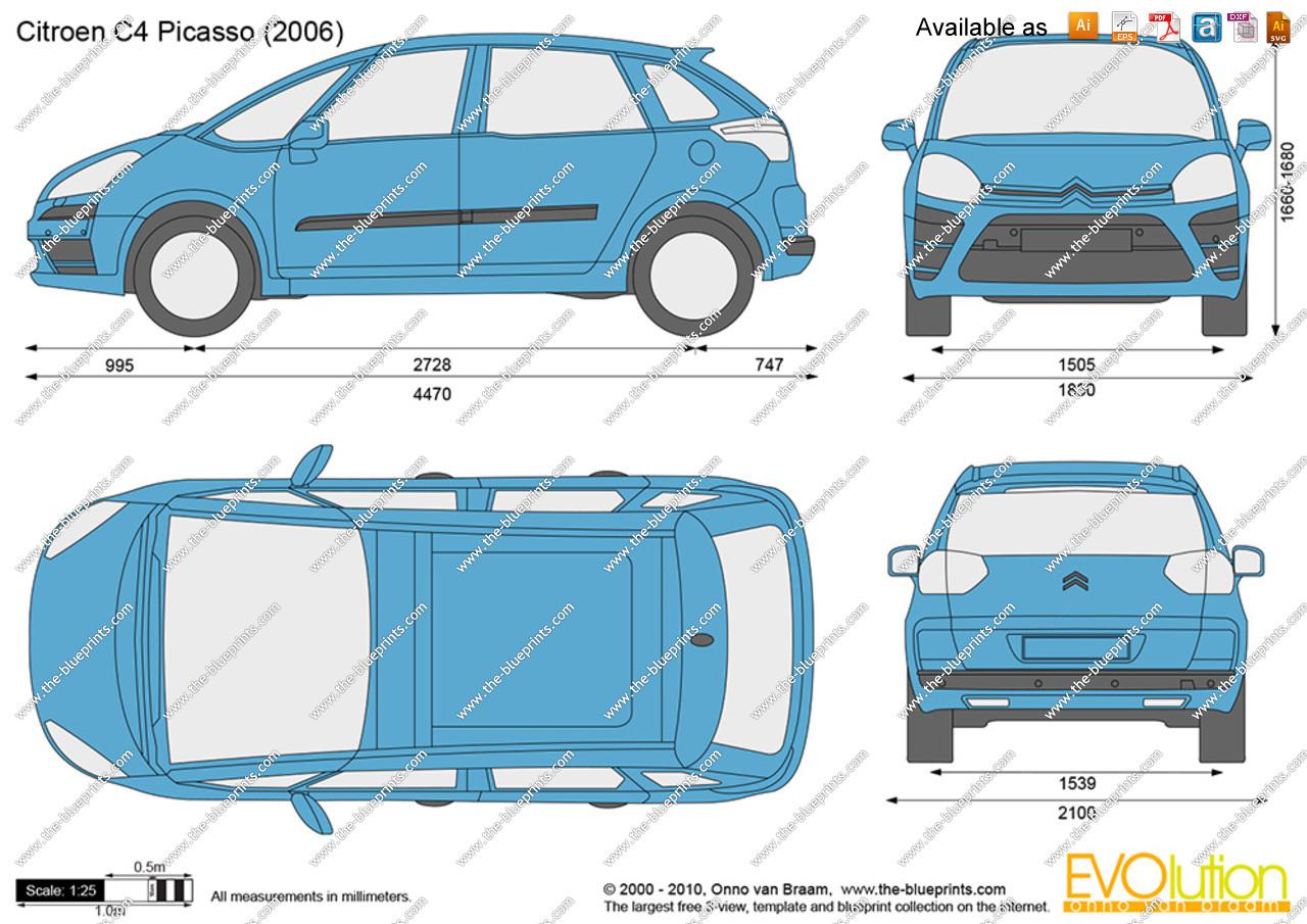 Dimensions Citroen C4 >> [3ds Max] Problemas para modelar un coche citroen c4 picasso